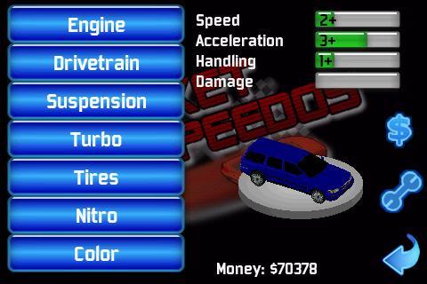 Pocket Speedos AdVersion- screenshot