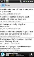 Screenshot of USNewspaper