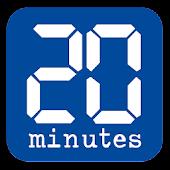 20 Minutes pour Tablette