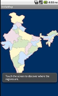 Indian States - India Map screenshot