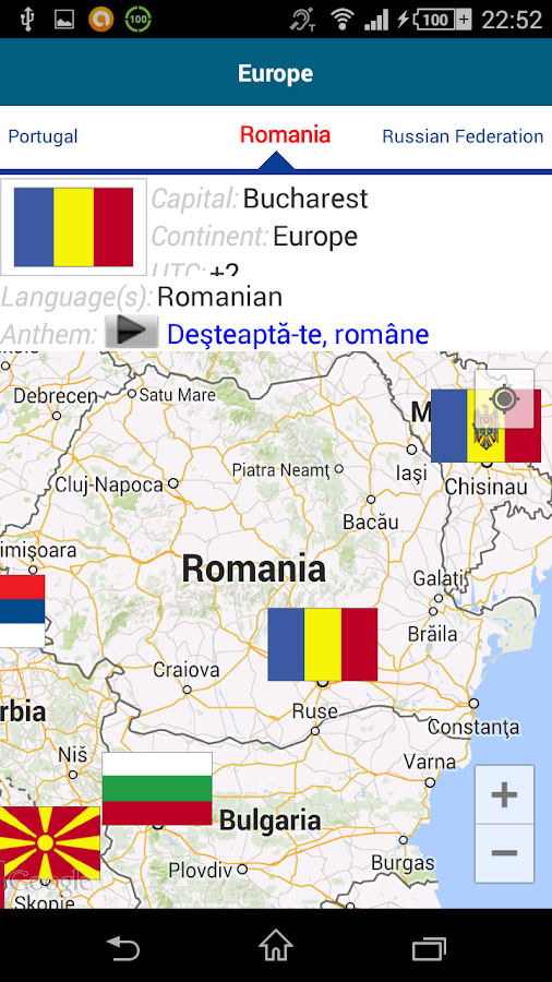 Learn Romanian - 50 languages- screenshot