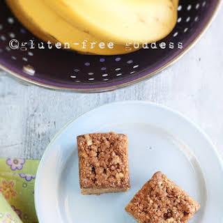 Gluten-Free Banana Crumb Cake.