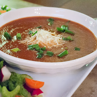 Cherry Tomato Soup with Parmesan Cheese Recipe