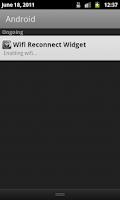 Screenshot of Wifi Reconnect Widget