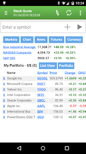 Stock Quote - screenshot thumbnail