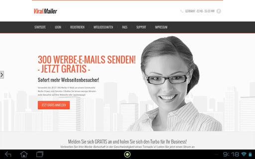 ViralMailer - Sende Viralmails