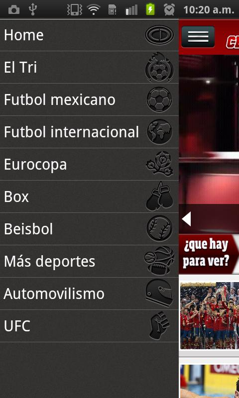 CENTRAL DEPORTIVA- screenshot