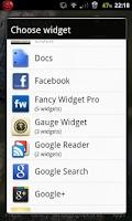 Screenshot of Gauge Vintage Widgets