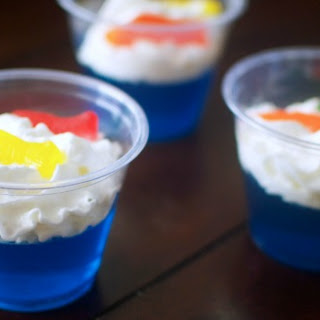 Easy One Fish Two Fish Jello Cups.