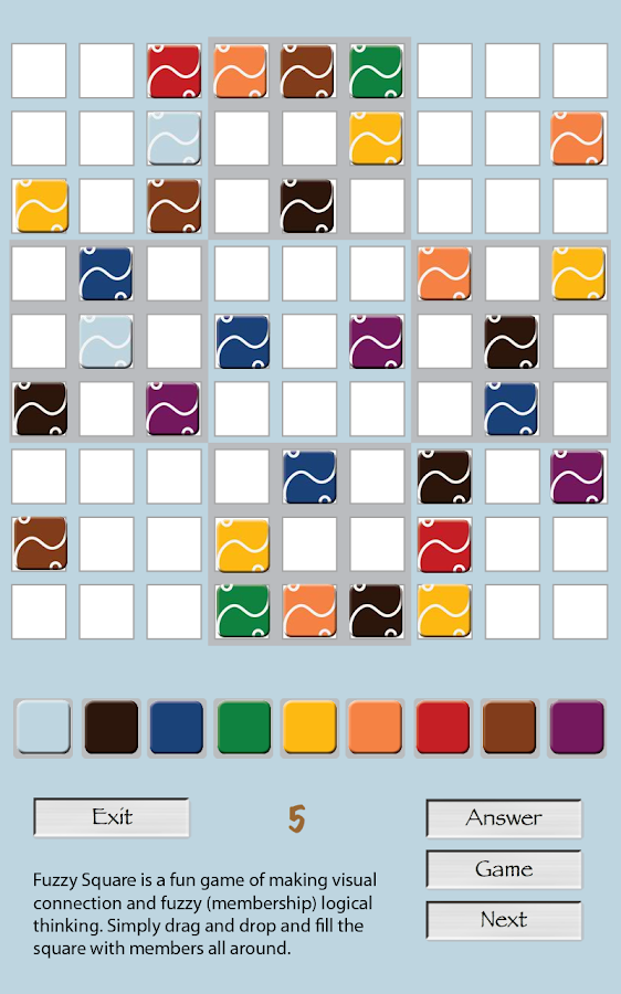Fuzzy Sudoku- screenshot