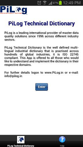 PiLog Technical Dictionary