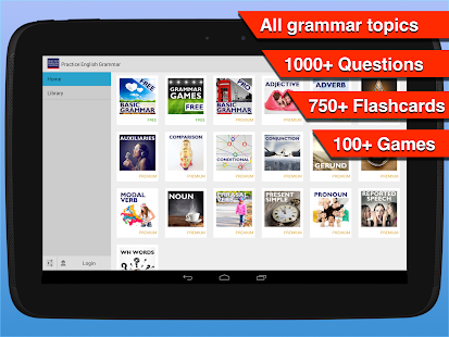 Practice English Grammar - screenshot thumbnail