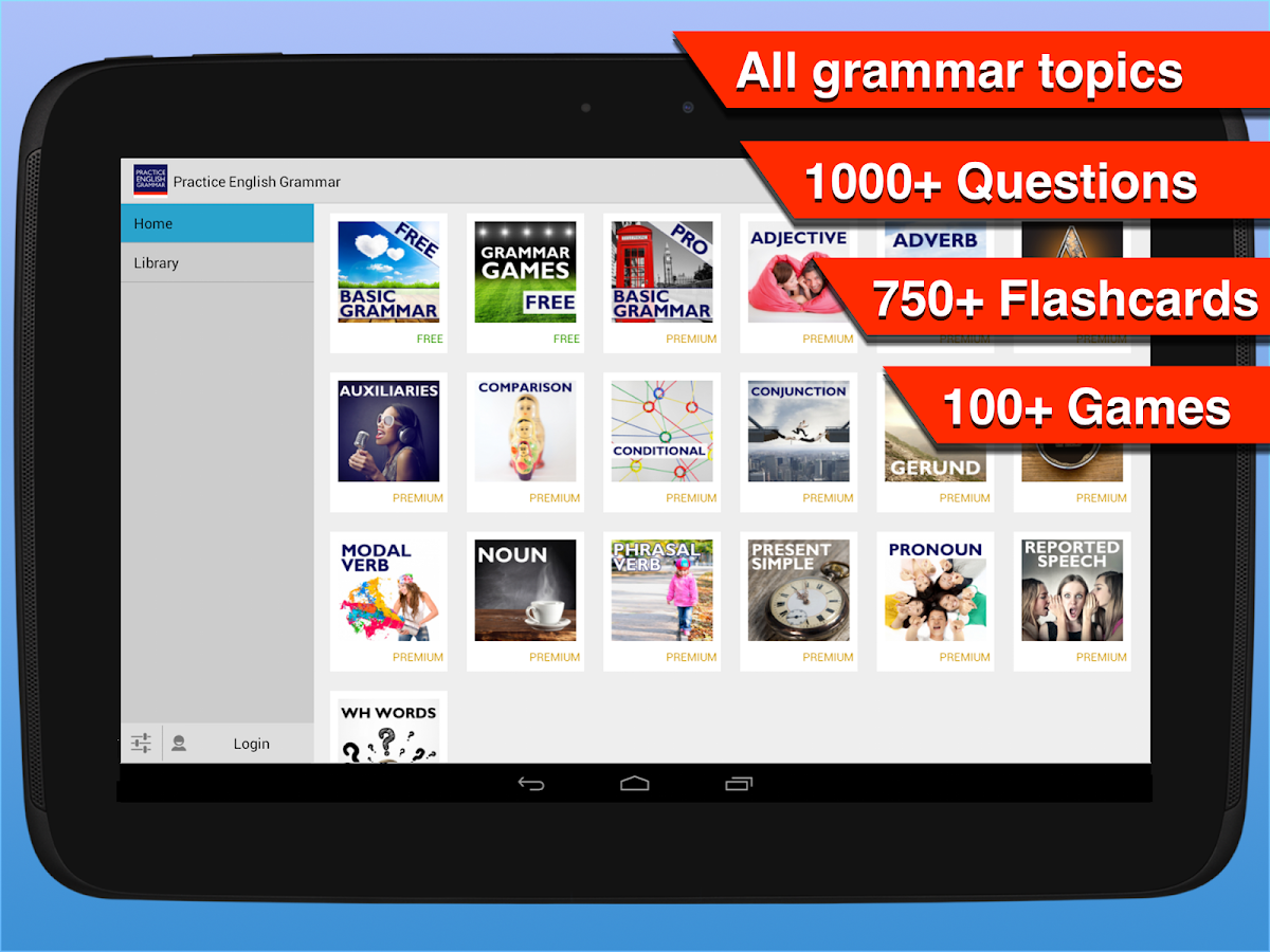 Practice English Grammar- screenshot
