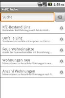 Screenshot of Apps4Linz-KoDZ