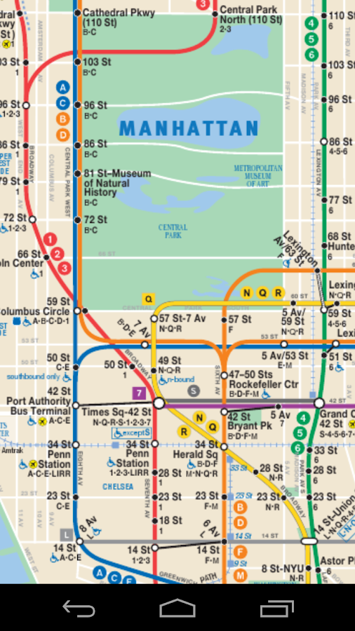 Galerry NYC Dynamic Subway Map Android Apps on Google Play