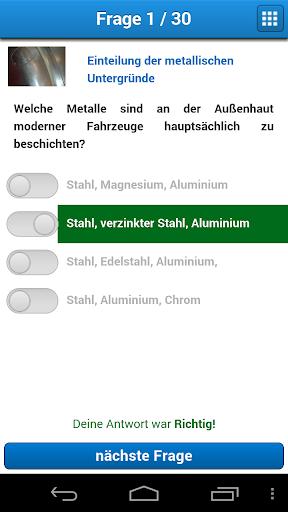玩解謎App|Lackiererblatt Wissens-Check免費|APP試玩