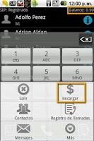 Screenshot of Make cheap calls over Internet