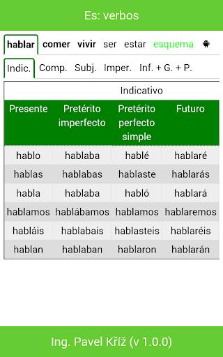 【免費教育App】Es: verbos-APP點子