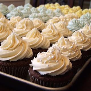 Wedding Cupcake Buttercream.