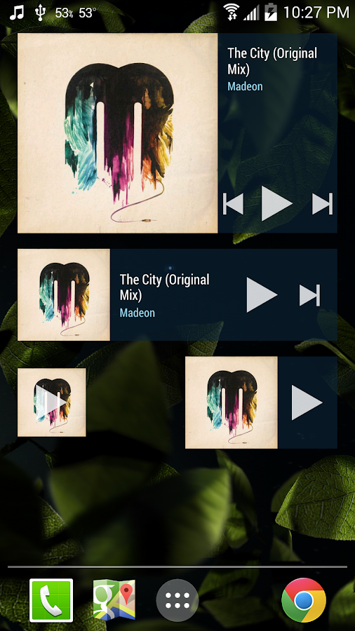 Cloudskipper Music Player - screenshot
