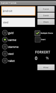French Danish Dictionary - screenshot thumbnail