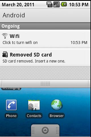 Wifi Powerbar - screenshot