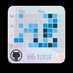 GitHub Contributions Widget v1.0