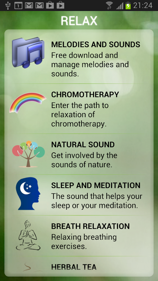Relax and Sleep Melodies - screenshot