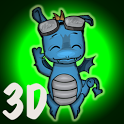 3D Cool Dragon icon