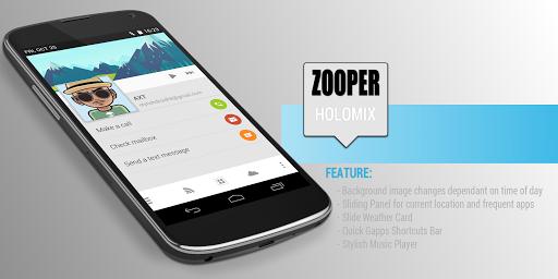 HoloMix - Zooper Theme