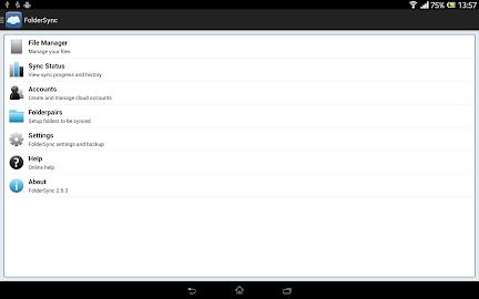 FolderSync Screenshot 1