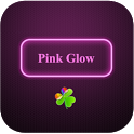 Pink Glow Theme Go Launcher icon
