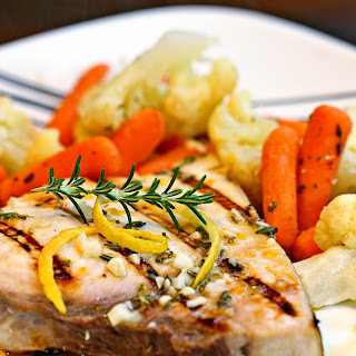 Lemon Rosemary Grilled Swordfish
