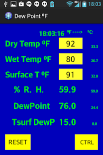 Dew Point ºF - náhled
