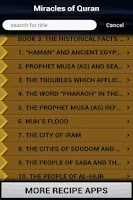 Screenshot of Miracles of Quran (Islam)
