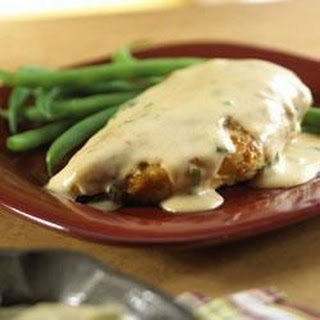 Paprika Chicken with Sour Cream Gravy.