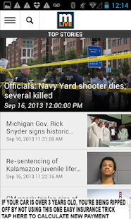 MLive.com - screenshot thumbnail