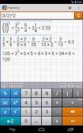 Fraction Calculator MathlabPRO Screenshot 18