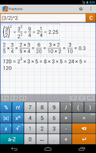 Fraction Calculator MathlabPRO v1.2.13
