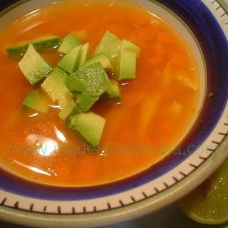 Tlalpeño Soup.