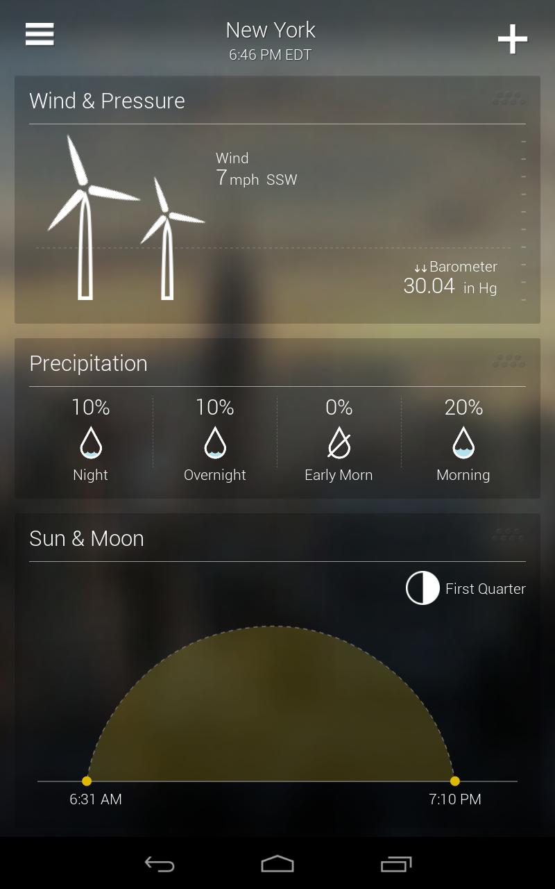 Yahoo Weather screenshot #14