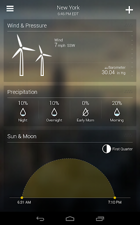 Yahoo Weather 1.3.9 screenshot 2124