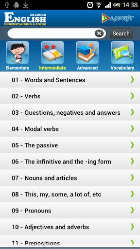 【免費教育App】Ngữ pháp Tiếng Anh-APP點子