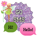 GO SMS - Flower Fairy icon