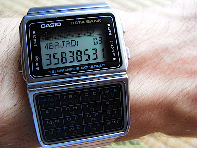 2c0c6c2dae8e Mi Reloj Casio calculadora 僕のカシオデータバンク