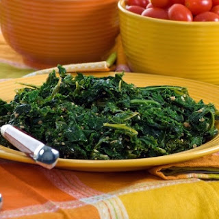 Basic Sauteed Kale.