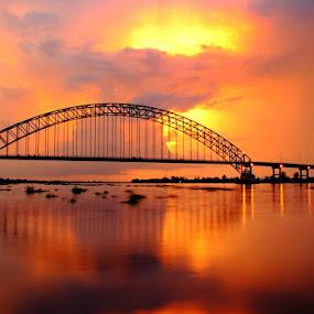 Rumpiang bridge by Joel  Pangoe Rihingan - Landscapes Sunsets & Sunrises (  )