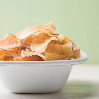 Homemade Potato Chips.