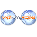 GreatFunnyPictures logo