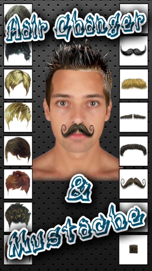 Hairstyle Changer 4 questions vous poser avant de changer de couleur de cheveux Hair Changer And Mustache Screenshot
